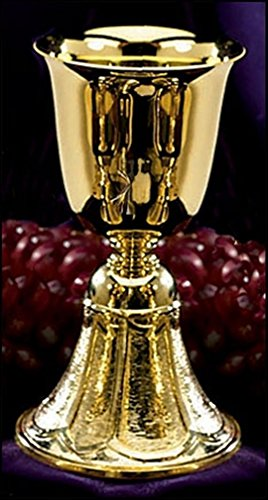 Stratford Chapel Gold Tone Common Cup, 7 1/8 Inch