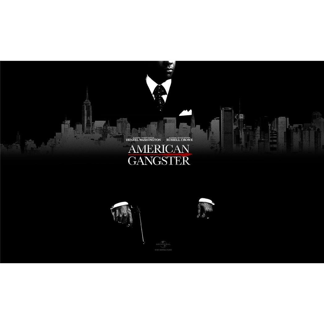 American Gangsterポスターbyシルク印刷#サイズについて( 96 cm x 60 cm、38 Inch X 24 inch ) # Uniqueギフト# 7 C7eab B00IT570SI