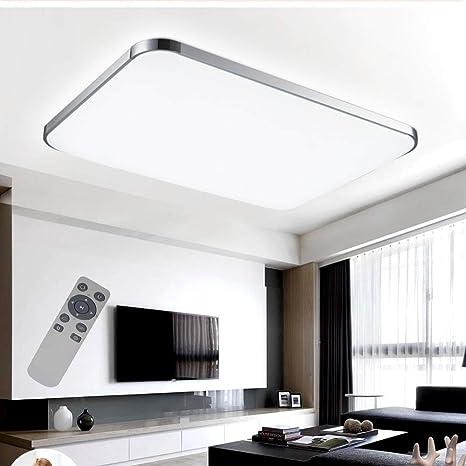 Lámpara de techo LED Lámpara de techo Regulable 72 W Lámpara de la sala Luces de techo modernas Cocina Baño Pasillo Dormitorio