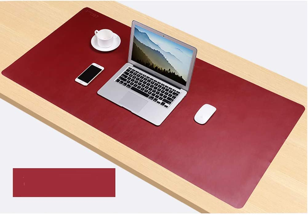 c 120x60cm AMYDREAMSTORE Double-Sided Office Desk Mat,pu Leather Waterproof Desk Mouse Pad,Desk Pad,Oversized Large Mouse Pads Writing Mat Desk Protector for Office Home Gaming 47x24inch