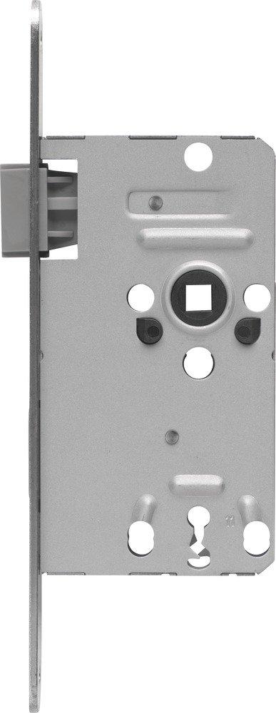 ABUS 208218 - Cerradura empotrable para puertas interiores (TK10, izquierda), color plateado