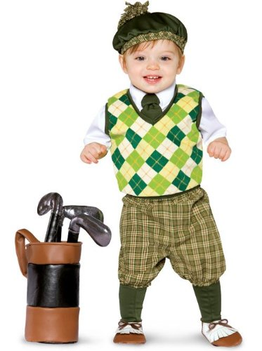 Future Golfer Costume Toddler Boy, Toddler 3-4T (Funny Golf Halloween Costumes)