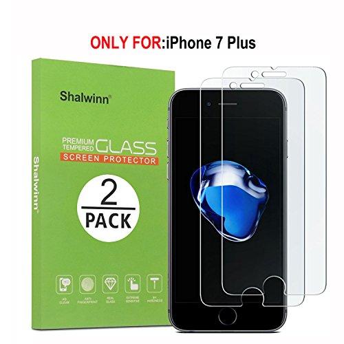 Shalwinn[2 PACK] Protector de pantalla activo Galaxy S7, [Dureza 9H] [Sin burbujas] [HD Clear] Protector de pantalla de vidrio templado para Samsung Galaxy S7 Active, NO apto para Galaxy S7, S7 Edge iPhone7 Plus