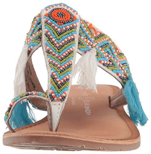 Toe Ring Paradiso White Sandal Laundry Chinese Women's Leather wqfaC6Et