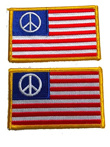 Peace Flag Patch - 6
