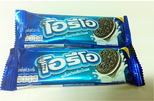 Thai NEW Cookies Oreo Sandwich Coklat flavors (2 X 29.4 G.) (Recipe For Halloween Cookies From Scratch)