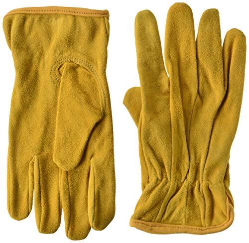 Ladies Goatskin Leather - Midwest Gloves & Gear WW86-8-AZ-6 Midwest Women's Ladies Goatskin Leather Work Glove, Size 8, Tan
