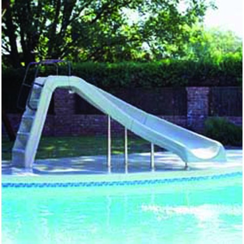 Inter Fab Water Slide (Inter-Fab Incorporated WWS-CR-SS White Water Slide - Right Turn)