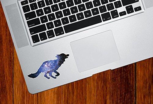 Cosmic Fox Running- Spirit Animal - Galaxy Guide - Trackpad | Tablet | iPad - Vinyl Decal Sticker Copyright © 2015 Yadda-Yadda Design Co. (3.5
