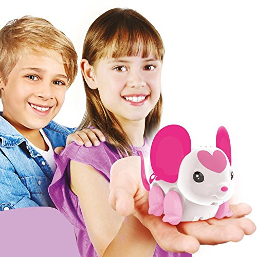 Little Live Pets Lil' Mouse Series 3 - BELLA TINA - These Adventurous Little Mice Love Whirl and Twirl to Their Own Music!