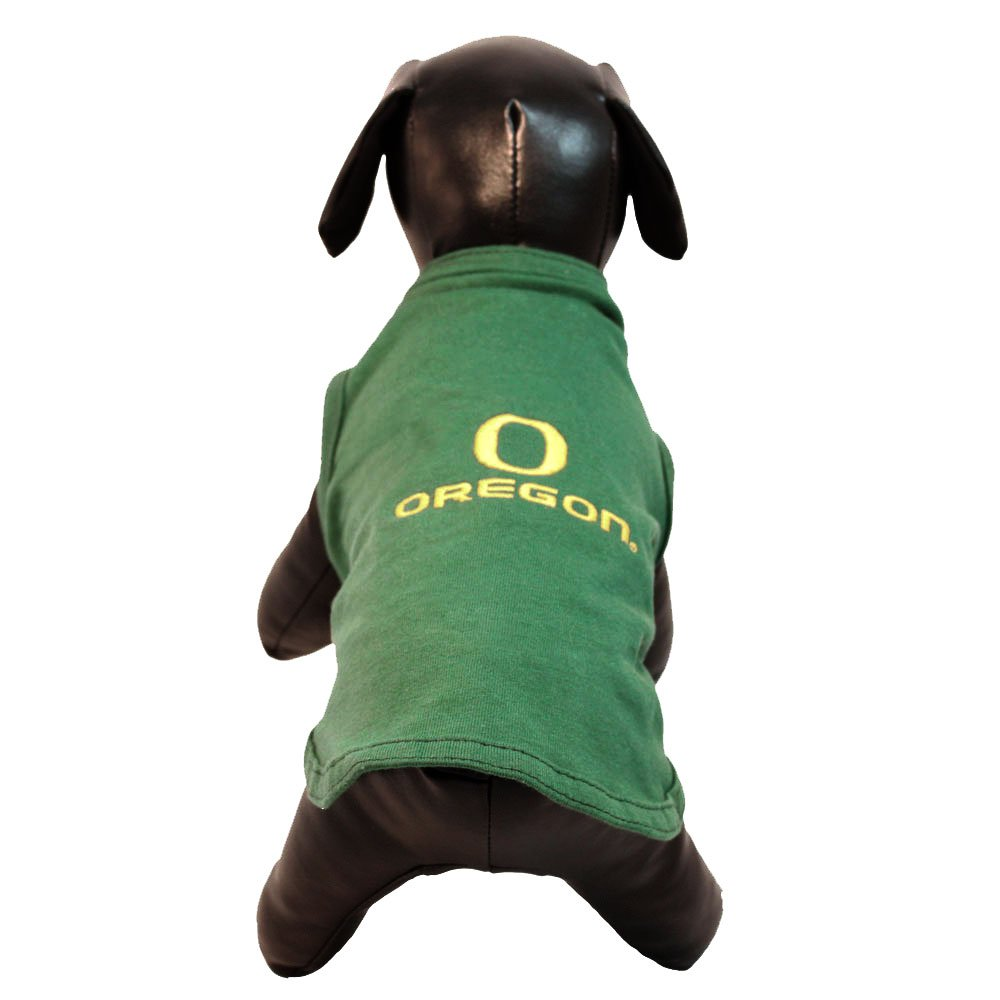 All Star Dogs NCAA Oregon Ducks Cotton Lycra Dog Tank Top, Small