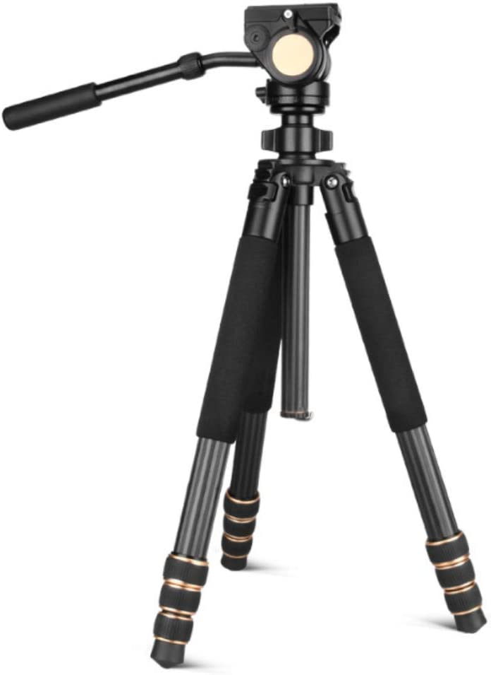 GKCD Tripod Carbon Fiber Professional Digital Camera Photography Tripod Foldable Maximum Load-Bearing 18KG Suitable for Outdoor Travel Camera Shooting