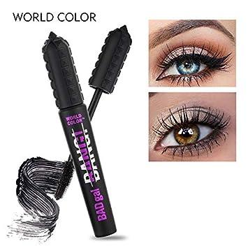 f76b4ab4410 Amazon.com : Maquiagem Br s 3D Fiber Lashes Black Mascara Makeup  Lengthening Waterproof Mascara Eyelash Cosmetics Eyes 26838 1 : Beauty