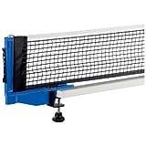 JOOLA juego de red y poste de tenis de mesa para exteriores resistente a la intemperie, impermeable, de 72 pulgadas, tamaño regulable, red con abrazadera de rosca, ideal para uso en interiores y exteriores
