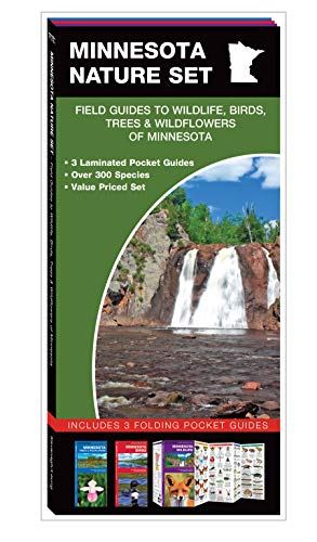 Minnesota Nature Set: Field Guides to Wildlife, Birds, Trees & Wildflowers of Minnesota