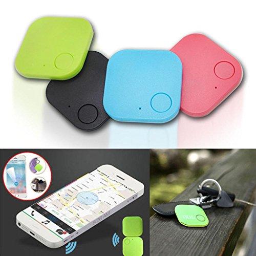 Adoeve 1 Set Car GPS Tracker Kids Pets Wallet Keys Alarm Locator Realtime Finder Tracker (Black)