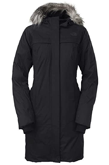 59e159dfc Amazon.com: The North Face Womens Arctic Parka Down Jacket (Black, X ...