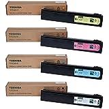 Toshiba T-FC25-K T-FC25-C T-FC25-M T-FC25-Y e-Studio 2040 2540 3040 3540 4540 Toner Cartridge Set (Black Cyan Magenta Yellow,