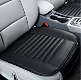 95 camaro seats - TRUE LINE Automotive One Piece Car Bamboo Charcoal Car Seat Premium Cushion Cover Pillow PU Leather