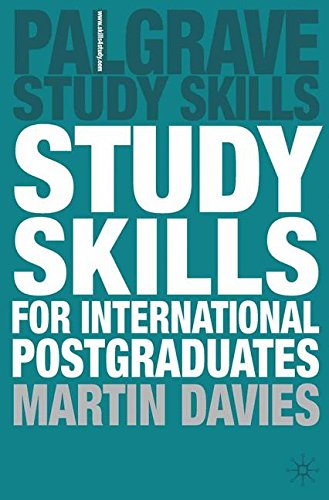 Study Skills for International Postgraduates (Palgrave Study Skills)