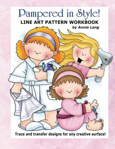 Download Pampered in Style!: Line Art Pattern Workbook ebook