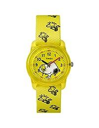 "Timex ""Time Machines"" Peanuts Collection - Reloj, Woodstock & Snoopy, Una talla"
