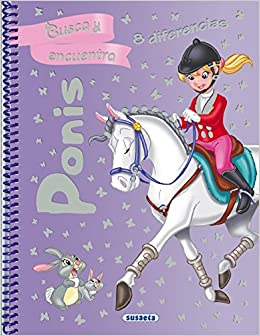 Ponis (Busca y encuentra 8 diferencias): Amazon.es: Susaeta Ediciones S A: Libros