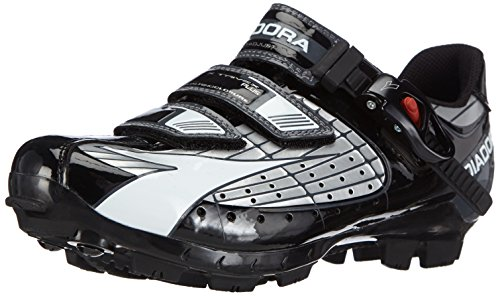 Diadora X Trivex Plus, Chaussures de VTT Mixte Adulte Argent (Schwarz)