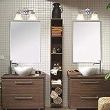 7Pandas 2-Light Bathroom Vanity Light, Interior