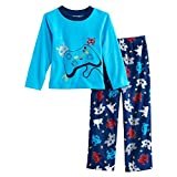 xbox pants - Boy's Video Game Controller Space Invaders Gaming Fleece Pajama Pants Set (8)