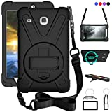 ZenRich Galaxy Tab E 8.0 Case, zenrich 360 Degree Kickstand Dropproof High Impact Resistant Heavy Duty Armor Cover W…