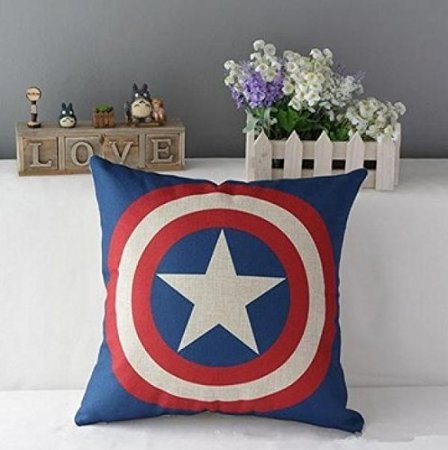 Amazon.com: Super Heros almohada Funda de cojín almohada de ...