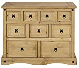 Corona Merchant Chest of Drawers, Mexican Pine