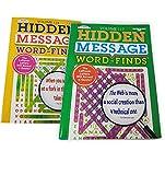 Hidden Message Book Puzzle | Jumbo (2 Pack) Word