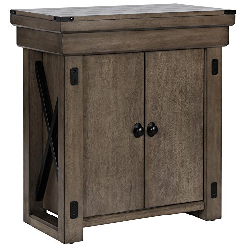 Ameriwood Home Wildwood Aquarium Stand, 20 gallon, Rustic Gray by Ameriwood Home