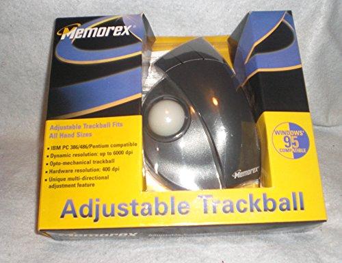 (Memorex - Trackball - 3 button(s) - wired - black, beige - retail )