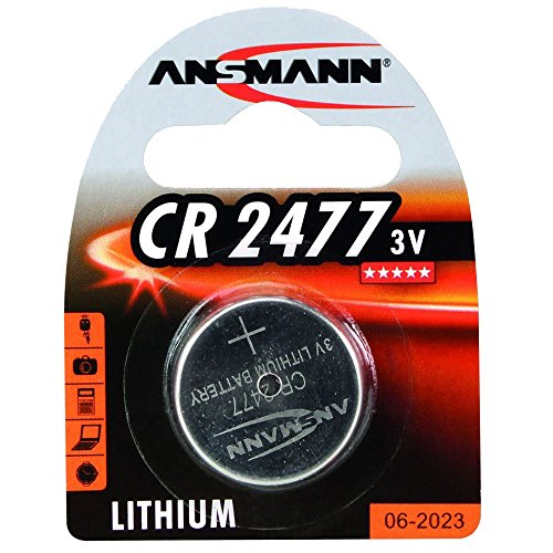 ANSMANN Lithium Coin/Button Cell - LiCC 3V CR2477