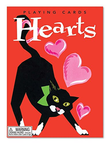 eeBoo Playing Cards Hearts, 1 EA