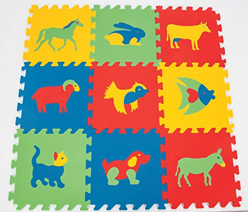 Animal Puzzle Play Mats & Kids Foam Play Mats & Kids Play Tiles by Polymat