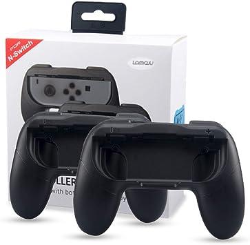 Lammcou Mandos para Switch Empuñaduras Controlador de Joy-con para ...