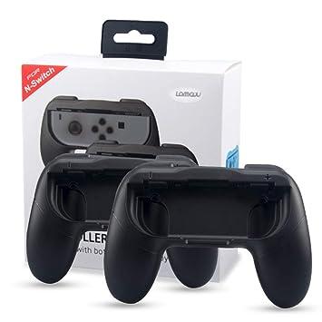 Lammcou Mandos Nintendo Switch Empunaduras Controlador De Joy Con