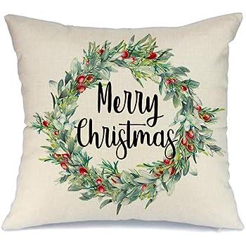 Amazon.com: AENEY A259 - Funda de almohada de Navidad de ...