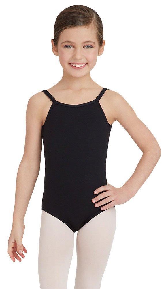 Capezio Camisole Leotard w/ Adjustable Straps - Girls - Size Child Small, Pink