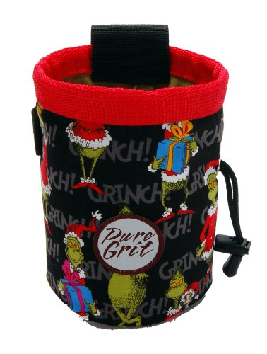 The Grinch Goes Climbing Chalk Bag
