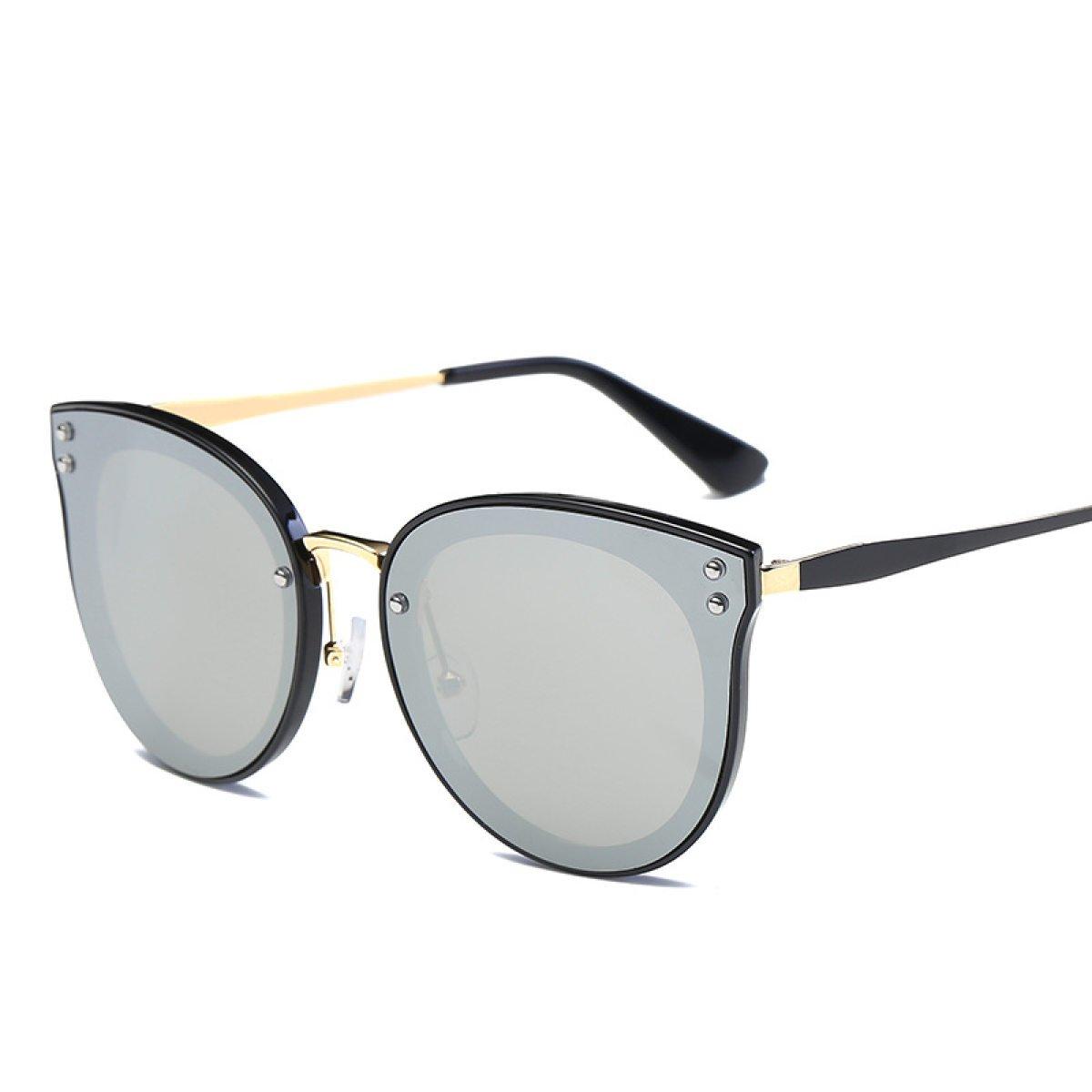 WKAIJC Mode Mode Persönlichkeit Kreativität Raffiniert Bequem Retro Männer Und Frauen Sonnenbrillen,B