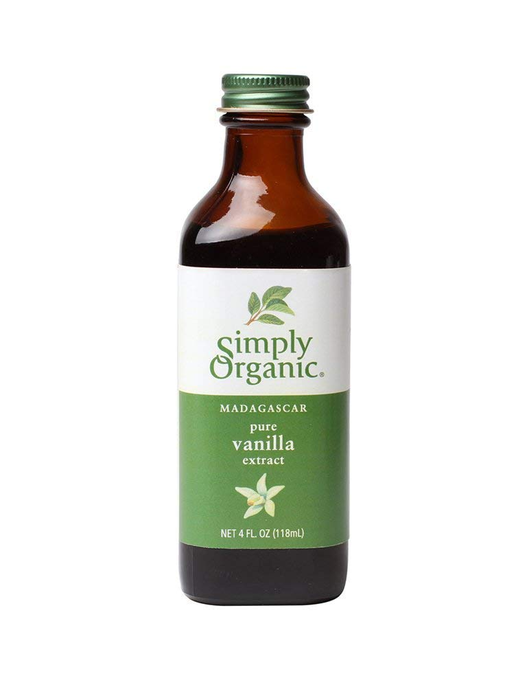 Simply Organic Vanilla Extract 4 Oz - Pack Of 1
