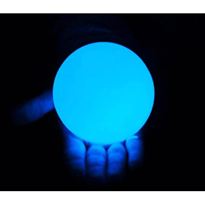 "DSJUGGLING Clear UV Acrylic Contact Juggling Ball - 2.75"" - 70mm: Toys & Games"
