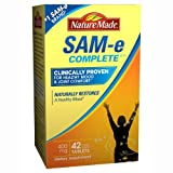Nature Made SAM-e Complete 400 mg - 42 Enteric Coated Tablets