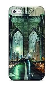 New Arrival DCZrBwB7973DJzXp Premium Iphone 5c Case(brooklyn Bridge)