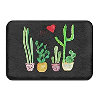 Cacti Cactus Love Artical Indoor/Outdoor Doormat Kitchen Rugs 4060